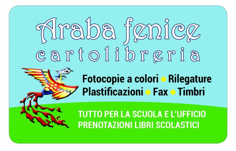 la fidelity card della Cartolibreria Araba Fenice a Livorno